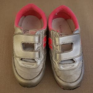 Saucony Baby Jazz Silver Sneakers